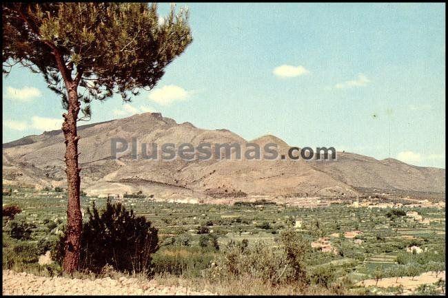 Vista general de cocentaina alicante fotos antiguas - Cocentaina espana ...