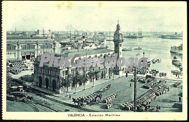 Estaci n mar tima de valencia fotos antiguas for Fotos antiguas de valencia