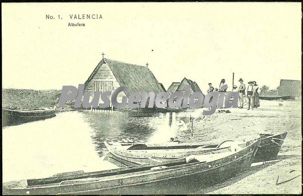 Albufera de valencia fotos antiguas for Fotos antiguas de valencia
