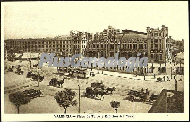 Plaza de toros y estaci n del norte de valencia fotos for Fotos antiguas de valencia
