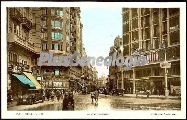 Plaza cajeros de valencia fotos antiguas for Cajeros barcelona