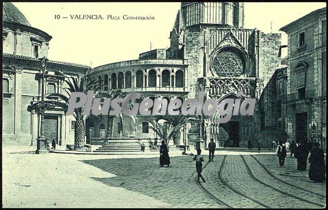 Plaza constituci n de valencia fotos antiguas for Fotos antiguas de valencia