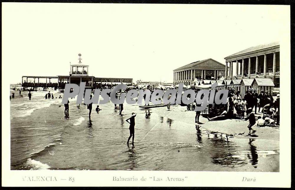 Balneario de las arenas de valencia fotos antiguas for Fotos antiguas de valencia