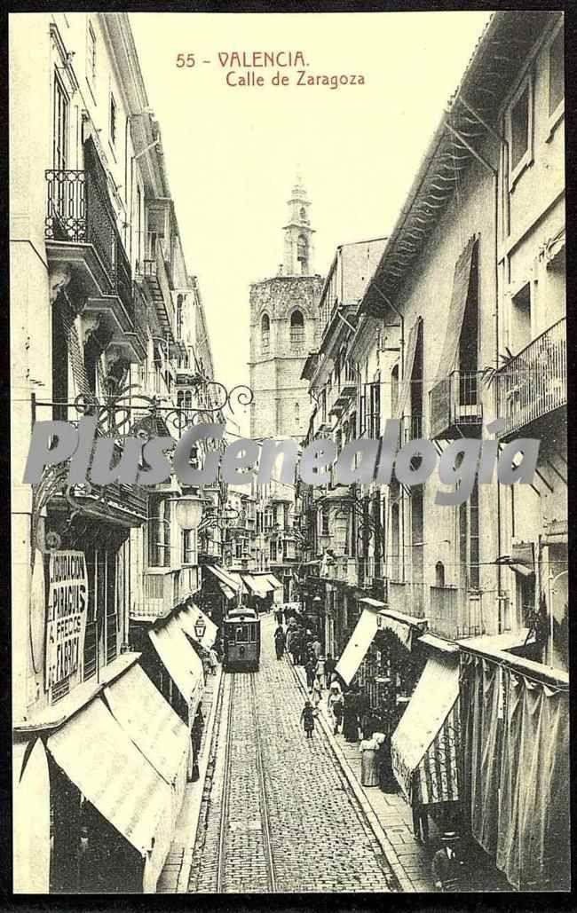 Calle de zaragoza de valencia fotos antiguas for Fotos antiguas de valencia
