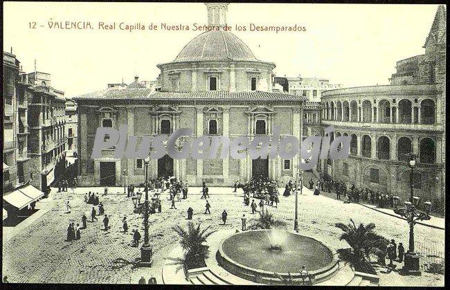 Real capilla de nuestra se ora de los desemparados de for Fotos antiguas de valencia