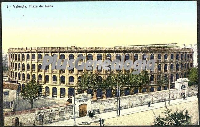 Plaza de toros de valencia fotos antiguas for Fotos antiguas de valencia
