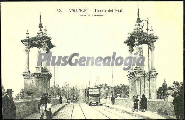 Puente del real de valencia