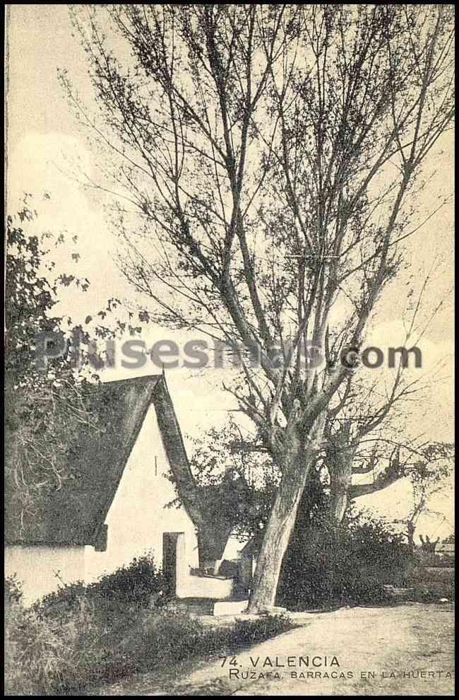 Ruzafa, barracas en la huerta (valencia)