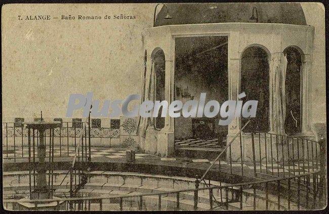 Baños Romanos Badajoz:Baño romano de señoras, alange (badajoz) (Fotos antiguas)