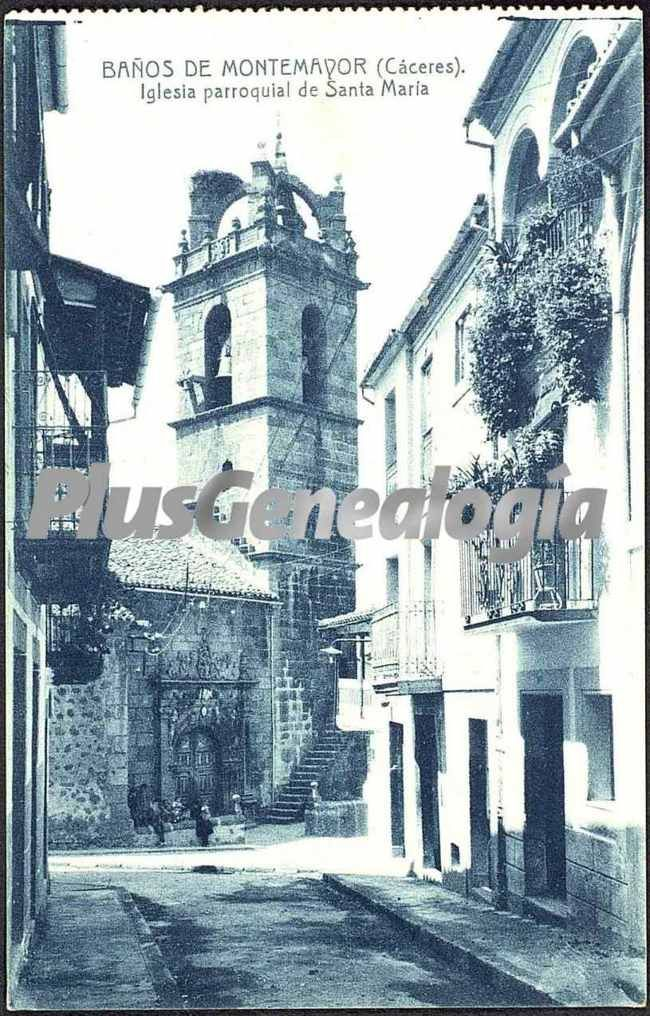 Iglesia parroquial de santa maria ba os de montemayor - Banos montemayor ...