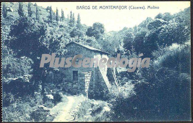 Molino ba os de montemayor c ceres fotos antiguas - Banos montemayor ...