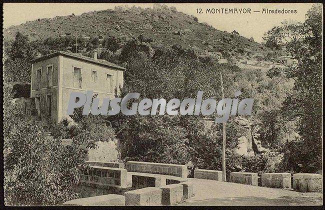 Alrededores, montemayor (cáceres)
