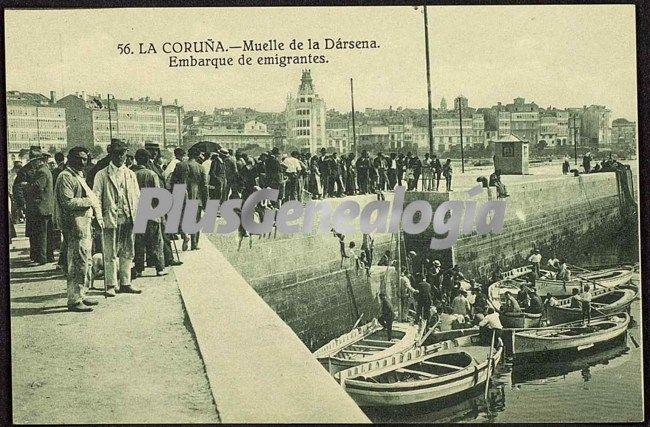 Fotos antiguas puerto de la corua 86