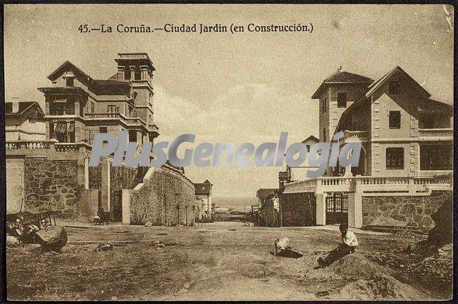 Ciudad jard n en la coru a fotos antiguas for Ciudad jardin granada