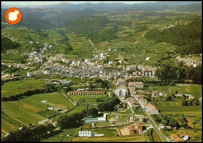 Caldas De Reyes Spain  City new picture : Vista aérea de caldas de reyes pontevedra Fotos antiguas