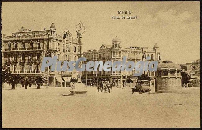 Foto antigua de MELILLA