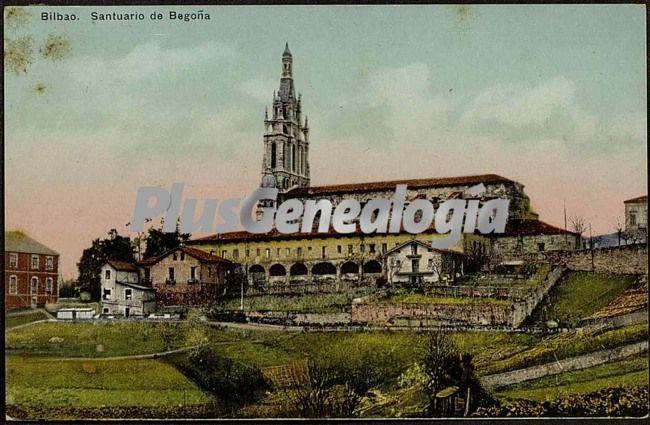 Santuario De Begona De Bilbao Fotos Antiguas