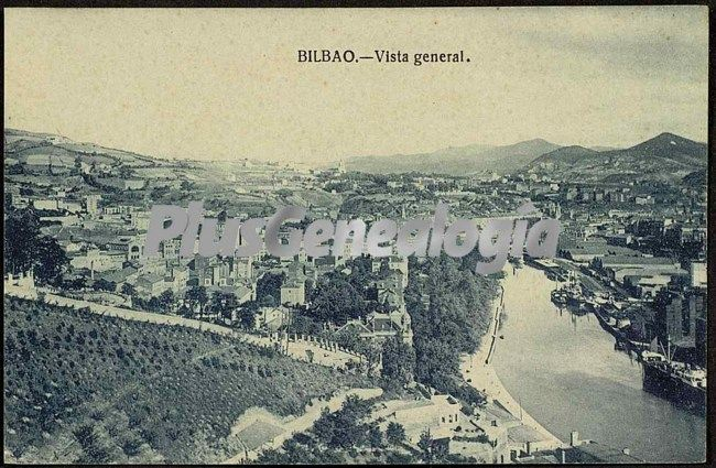 Vista general de bilbao fotos antiguas - Bilbao fotos antiguas ...
