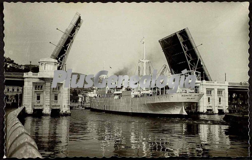 Puente levadizo sobre el mar de bilbao fotos antiguas - Bilbao fotos antiguas ...