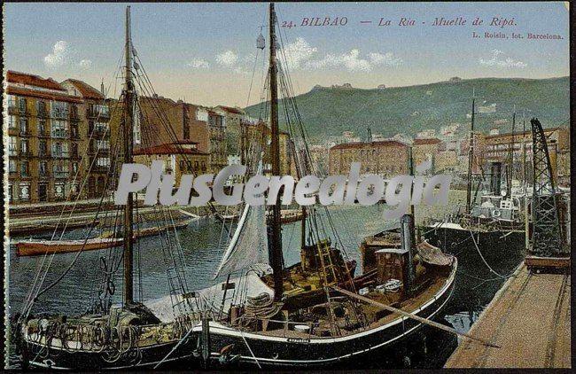 Muelle del rip de la r a de bilbao fotos antiguas - Bilbao fotos antiguas ...