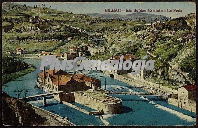 Isla San Cristobal La Pena De Bilbao Fotos Antiguas