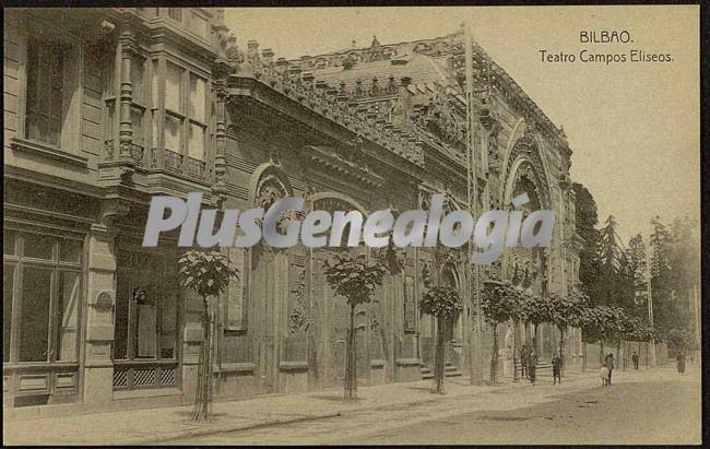 Teatro campos eliseos de bilbao fotos antiguas - Teatro campos elisios ...
