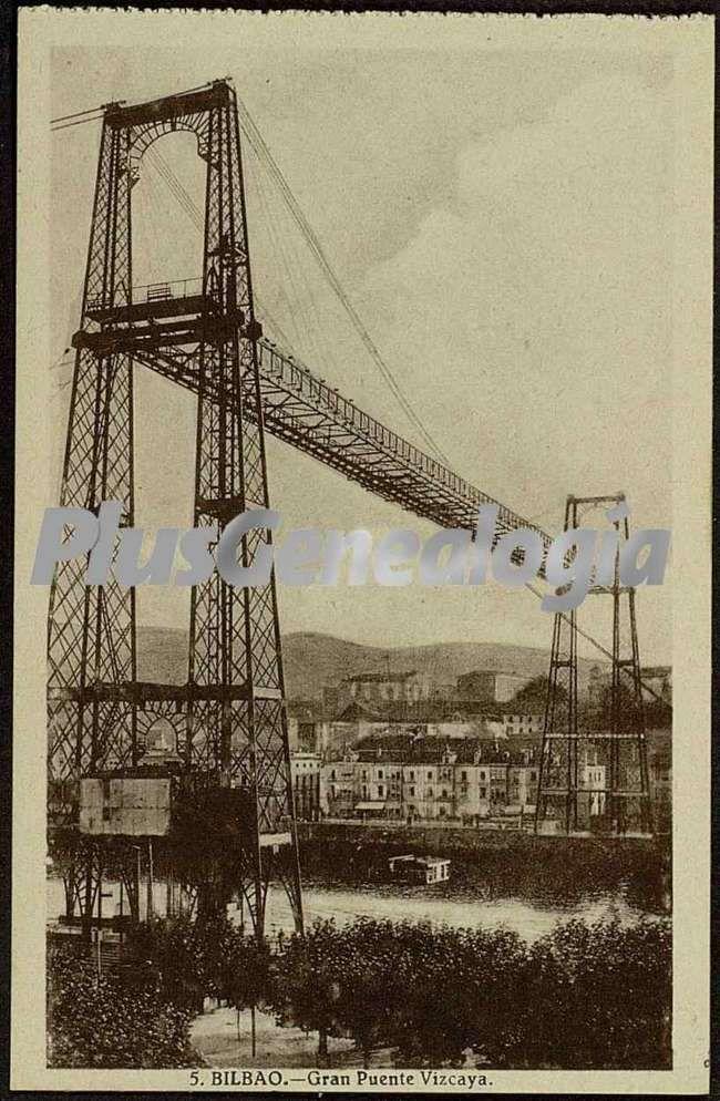Gran puente vizcaya de bilbao