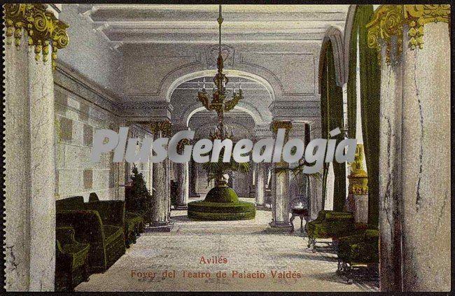 Grand Foyer Del Palacio : Foyer del teatro de palacio valdes avilés asturias