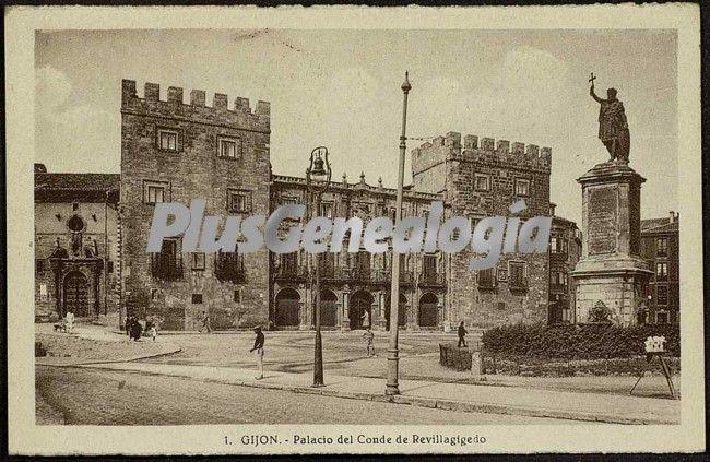 Palacio del conde de revillagigedo, gijón (asturias)