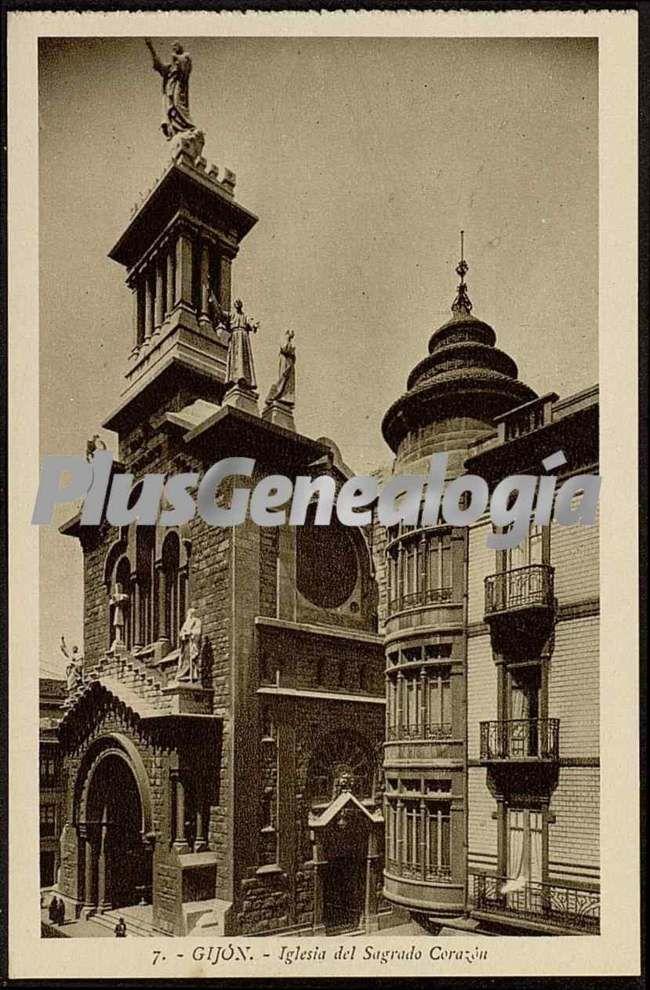 Iglesia del sagrado corazón, gijón (asturias)