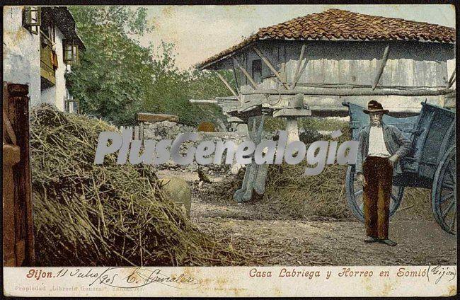 Casa labriega y horreo en somió, gijón (asturias)