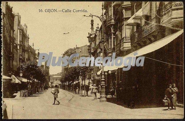 Calle corrida, gijón (asturias)