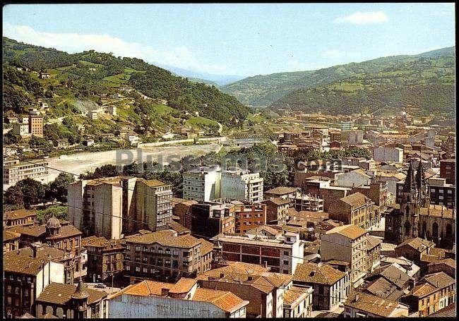 Vista de sama de langreo (asturias) (Fotos antiguas)