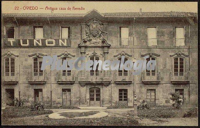 Antigua casa de heredia oviedo asturias fotos antiguas - Casa de asturias madrid ...
