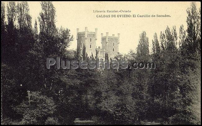 El castillo de secades; caldas de oviedo (asturias)