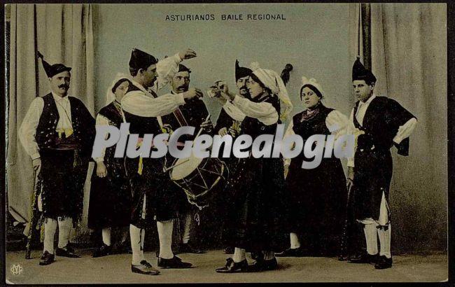 Asturianos baile regional, oviedo (asturias)