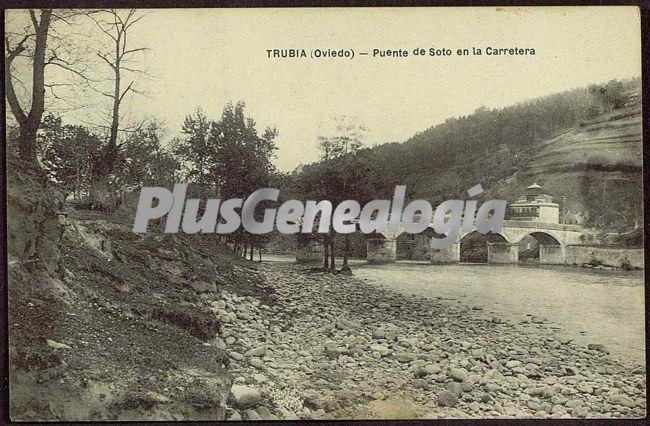 Puente de soto en la carretera, trubia (asturias)