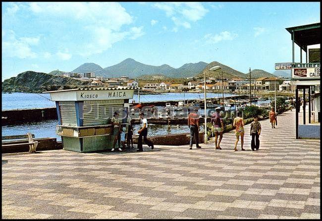 Paseo de la Barra en Cabo de Palos (Murcia)