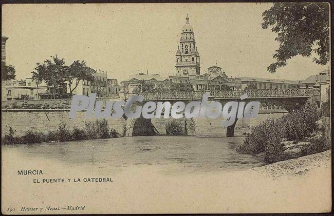 El puente y la catedral, murcia