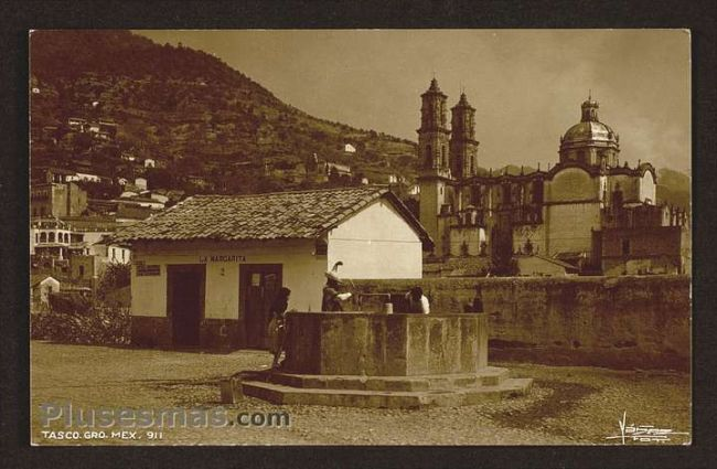 Foto antigua de TAXCO