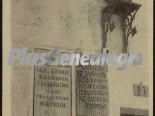 Lápida y estatua romana, alange (badajoz)