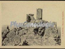 Ruinas del castillo, alange (badajoz)