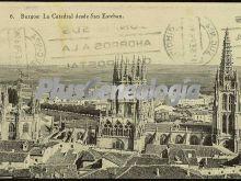La catedral de burgos desde san esteban