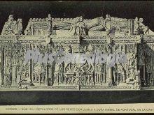 Sepulcros de los reyes don juan ii y doña isabel de portugal en la cartuja de burgos