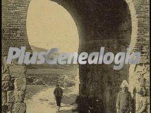 Arco árabe de san esteban de burgos