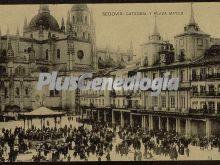 Catedral y plaza mayor de segovia