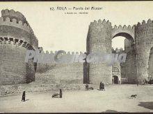 Puerta del alcázar de ávila