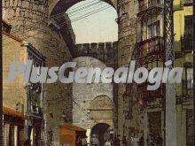 Arco de la plaza del alcazar de ávila