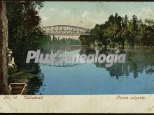 Puente colgante de valladolid