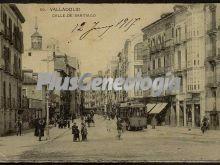 Calle de santiago (1917) de valladolid